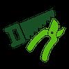 icona servizio trinciatura verde cabiria
