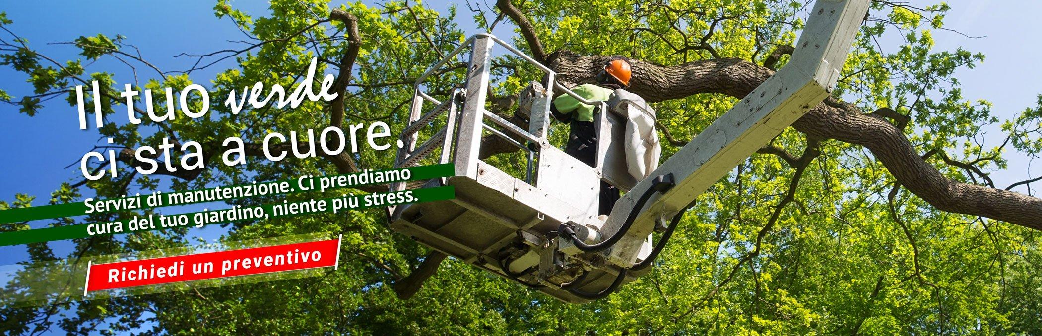 slide servizio di manutenzione verde cabiria